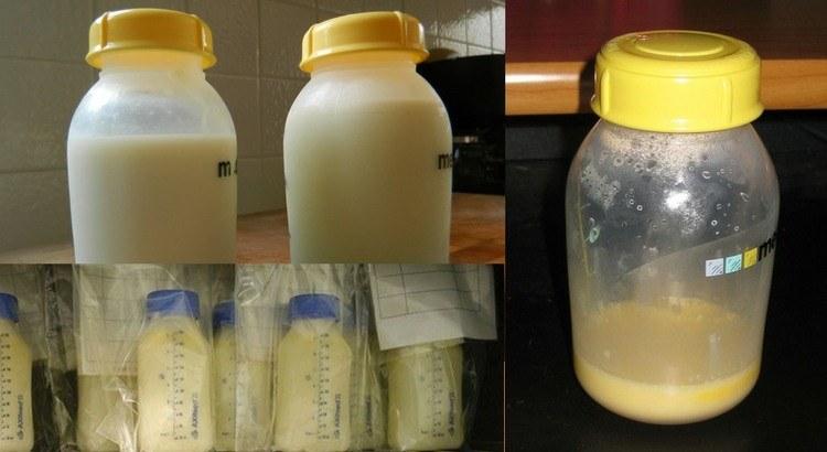 Sữa non của mẹ có màu gì?